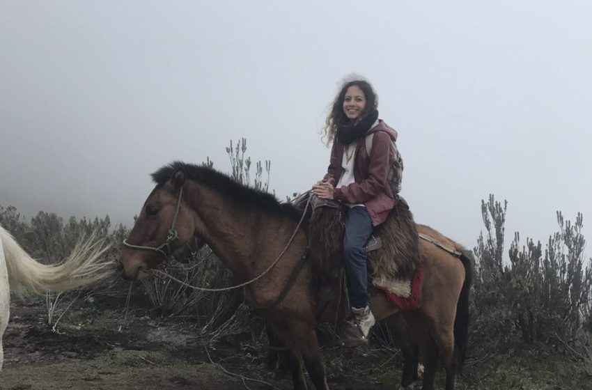 اسب سواری به روی آتشفشان پیچینچا