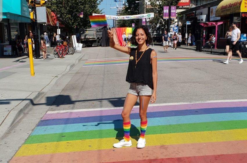 جشن رنگین کمانی در ونکوور و خداحافظی از استان بریتیش کلمبیا